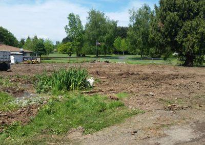 Site Prep for Eco GreenGrid