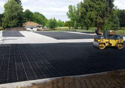 Eco GreenGrid Use - driveway in progress